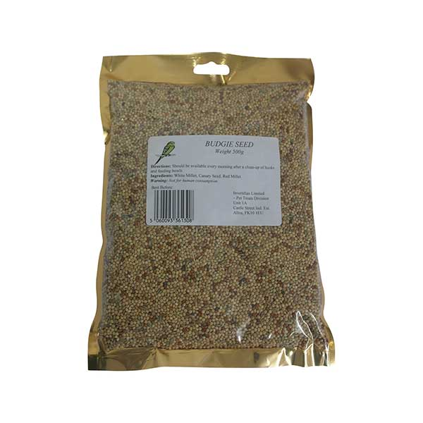 Budgie Seed Packet