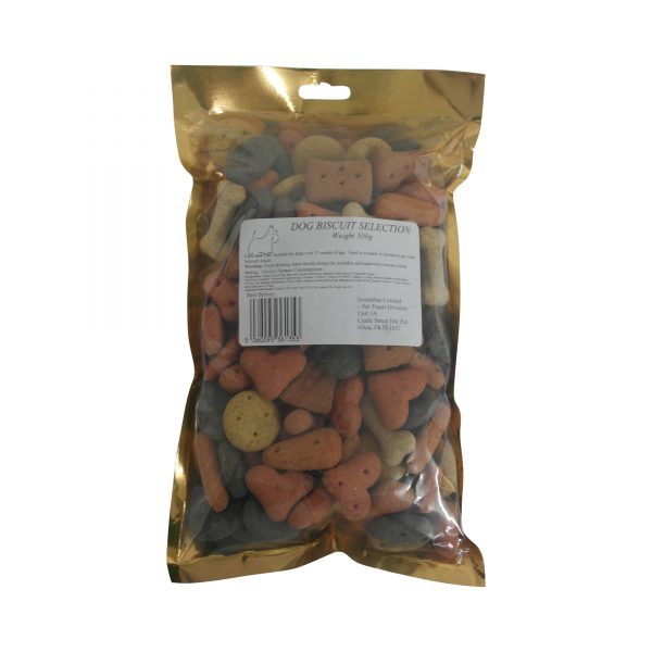 Dog Biscuit Selection 500g Packet