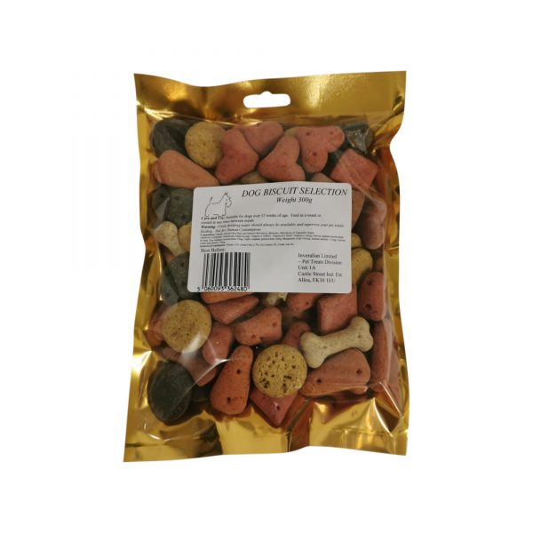 Dog Biscuit Selection 300g Packet