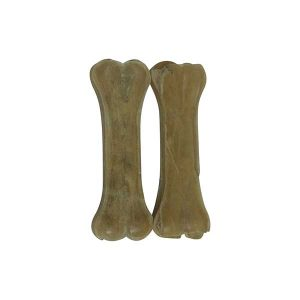 2 x Small Rawhide Pressed Bones