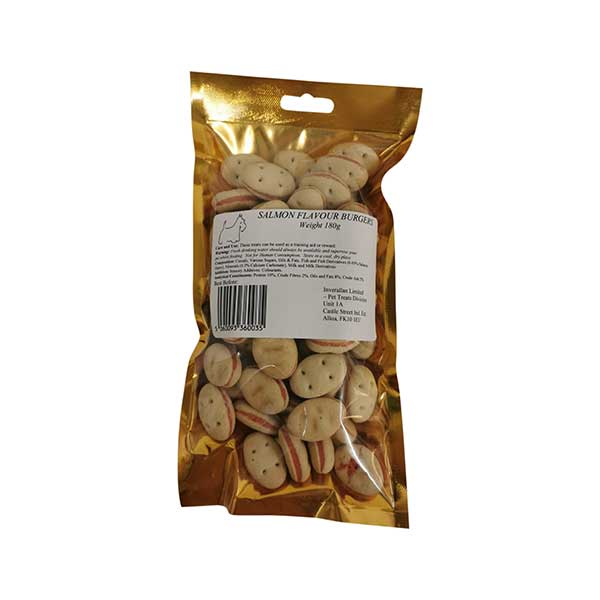 Salmon Flavour Burgers Packet