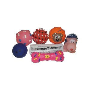 Assorted Squeaky Toys