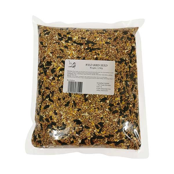 Wild Bird Seed bag 1.25Kg